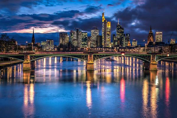 LED Bild Frankfurt am Main