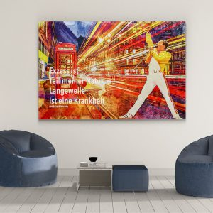 LED Bild Freddie Mercury