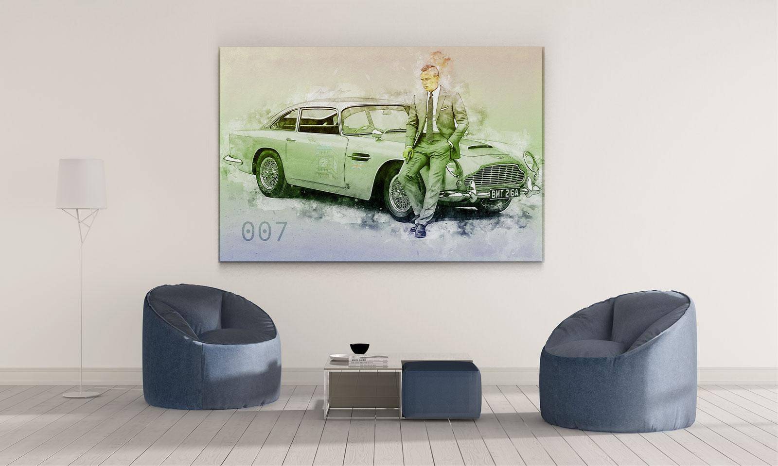 LED Bild Bond 007