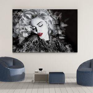 LED Bild Madonna