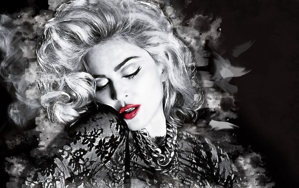 Wandbild Madonna
