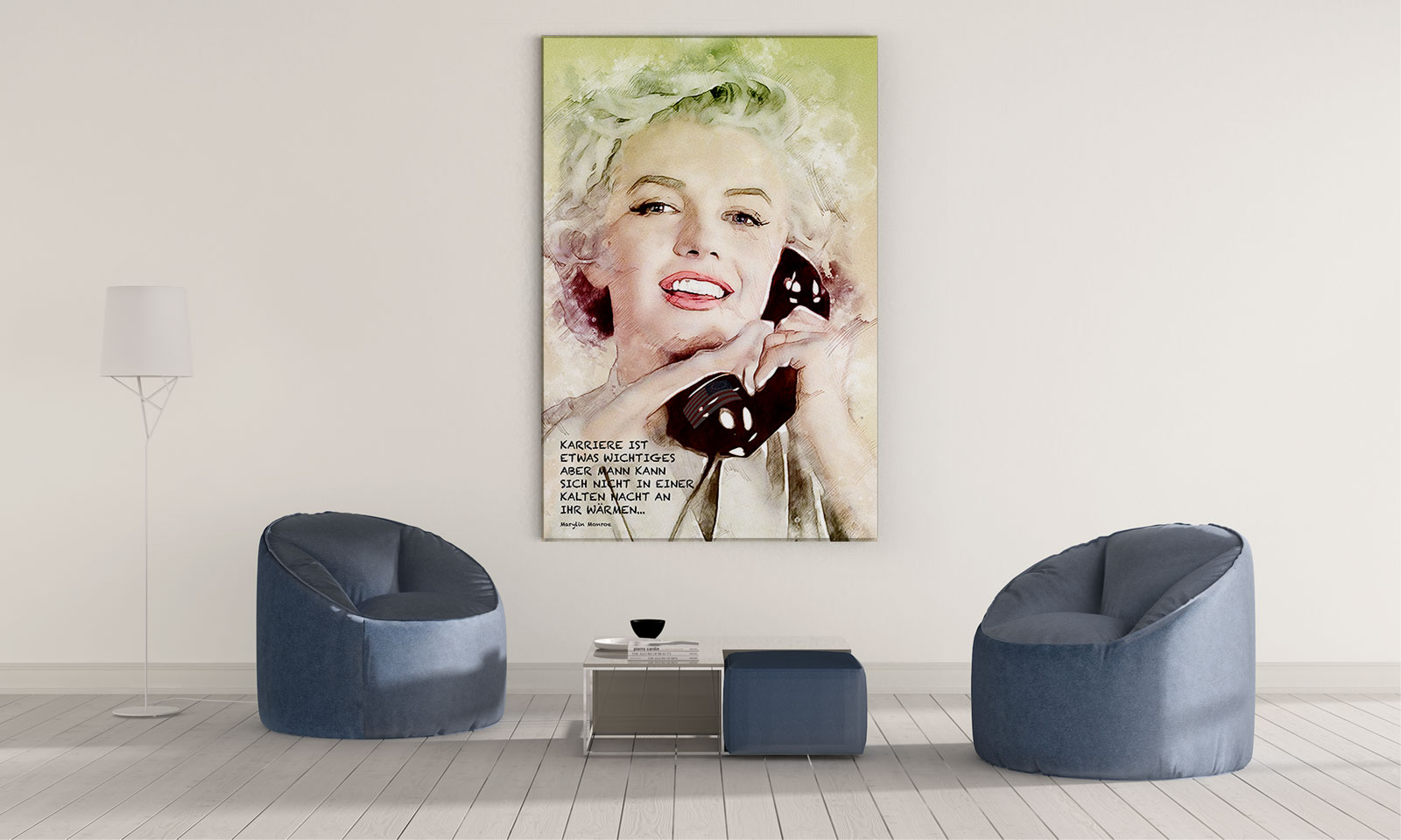 LED Bild Marylin
