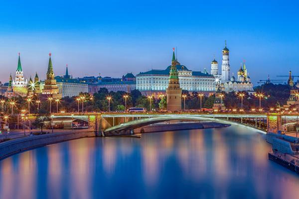 LED Bild Moskau