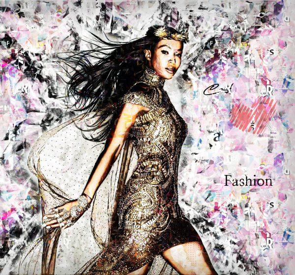 Wandbild Naomi Fashion