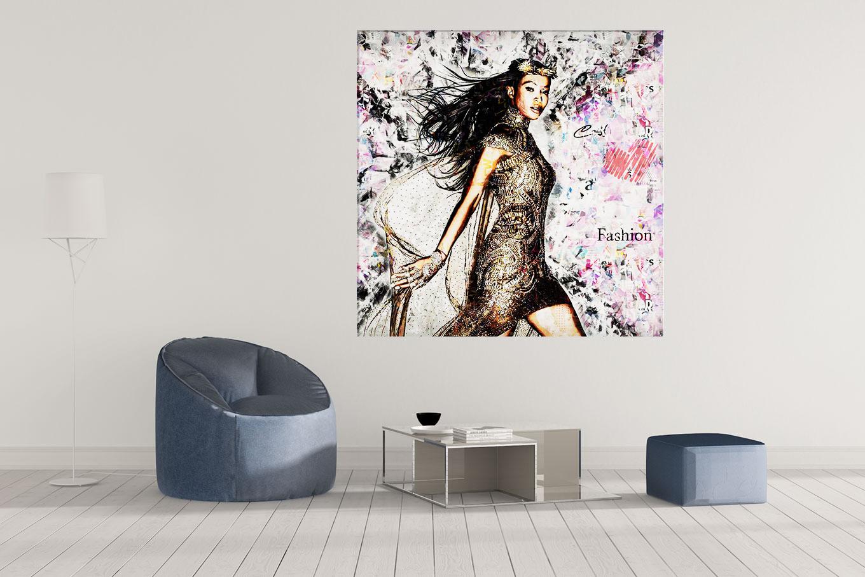 LED Bild Naomi Fashion