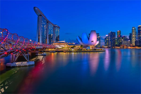 LED Bild Singapur