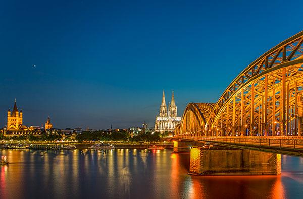 LED Bild Köln