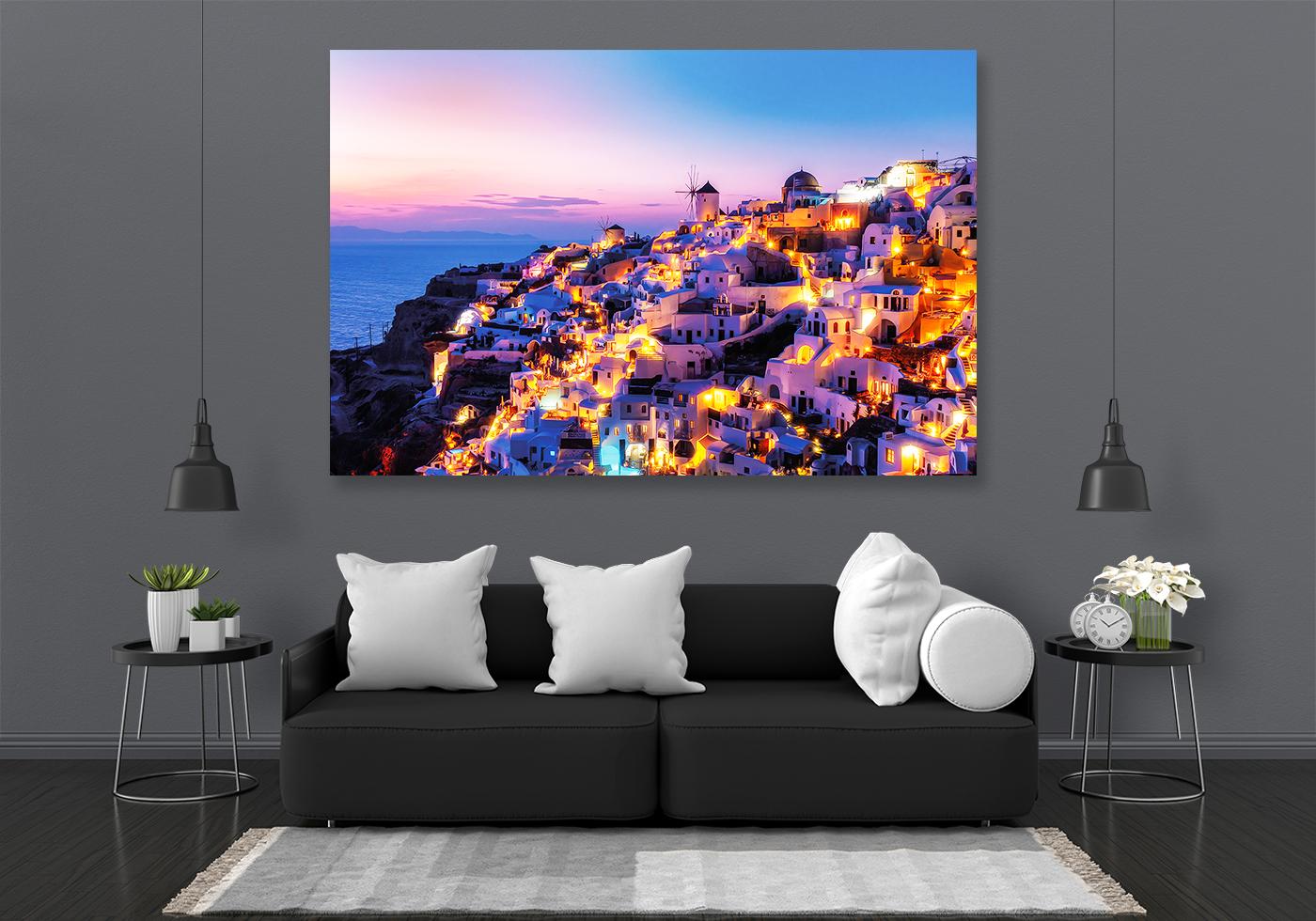Santorini LED Bild