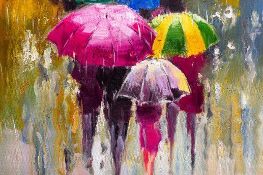 LED Bild Umbrella