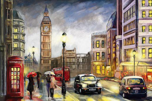 LED Bild London