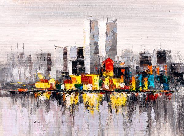 LED Bild NYC Art