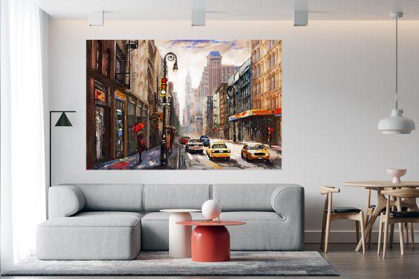 Wall Art NYC LED Bild