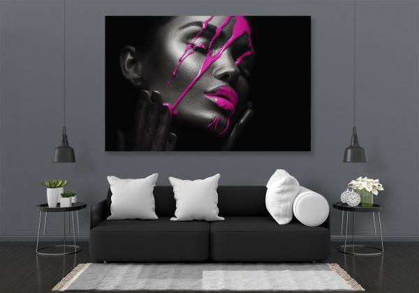 Pink Face LED Bild