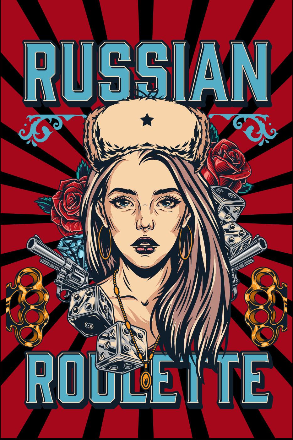 LED Bild Rusian Roulette