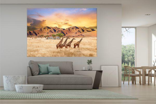 LED Bild afrika Wildlife