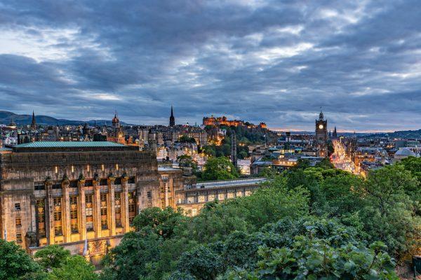 LED Bild Edinburgh