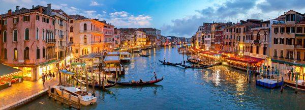 LED Panoramabild Venedig