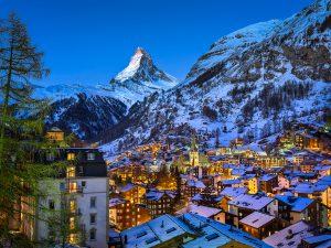LED Bild Matterhorn Zermatt