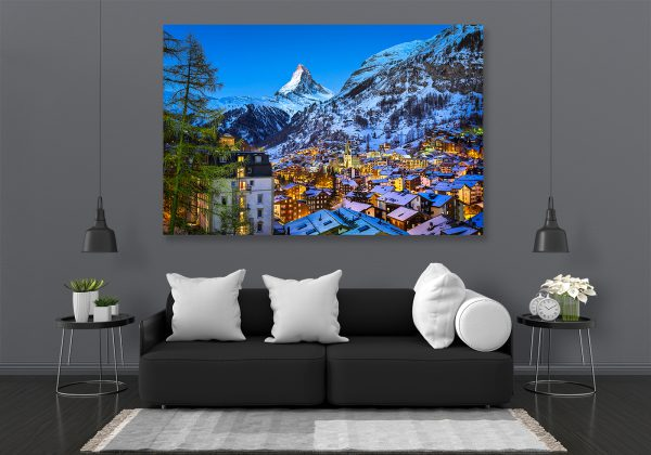 LED Bild Matterhorn