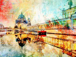 LED Bild Berliner Dom